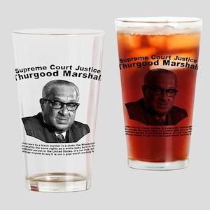 Thurgood Marshall: Equality Drinking Glass