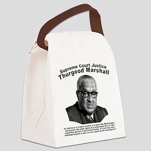 Thurgood Marshall: Equality Canvas Lunch Bag