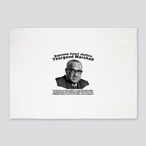 Thurgood Marshall: Equality 5'x7'Area Rug