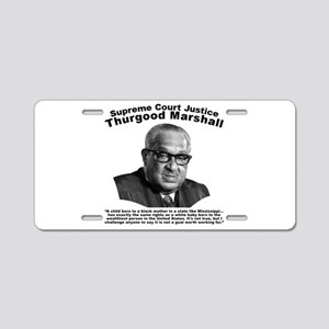 Thurgood Marshall: Equality Aluminum License Plate