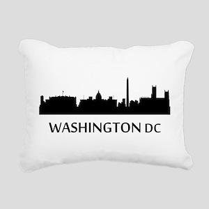 Washington DC Cityscape Skyline Rectangular Canvas