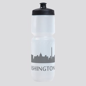 Washington DC Cityscape Skyline Sports Bottle