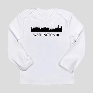 Washington DC Cityscape Skyline Long Sleeve T-Shir