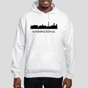 Washington DC Cityscape Skyline Hoodie