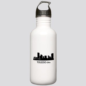 Toledo Cityscape Skyline Water Bottle