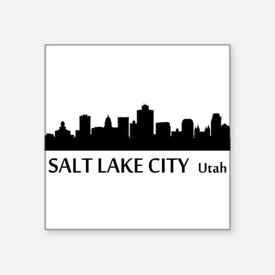 Salt Lake City Cityscape Skyline Sticker