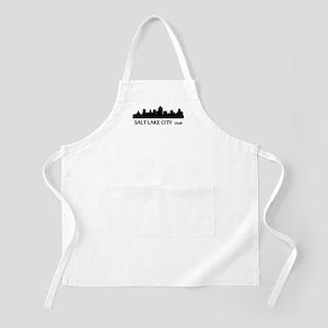 Salt Lake City Cityscape Skyline Apron