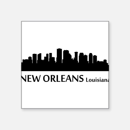 New Orleans Cityscape Skyline Sticker