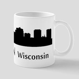 Madison Cityscape Skyline Mugs