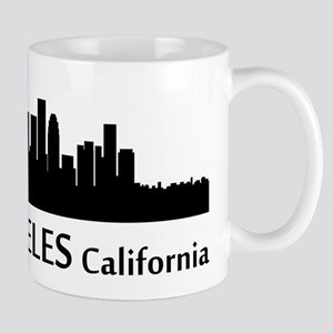 Los Angeles Cityscape Skyline Mugs