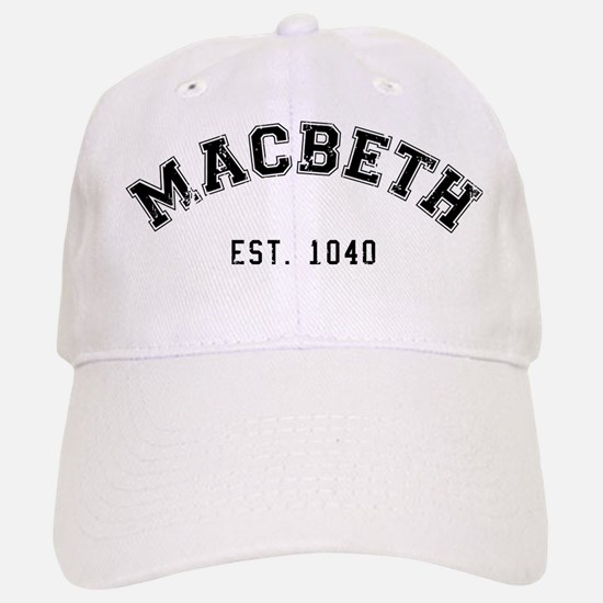 Retro Macbeth Baseball Baseball Baseball Cap