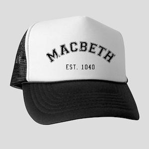 Macbeth Trucker Hats - CafePress 13372fbba98