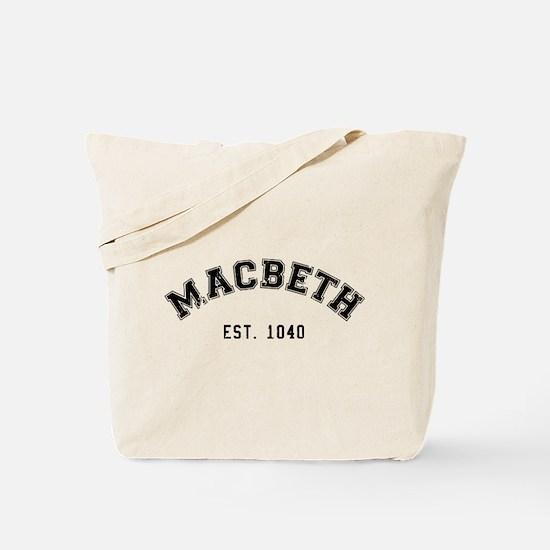 Retro Macbeth Tote Bag