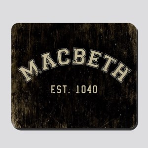 Retro Macbeth Mousepad