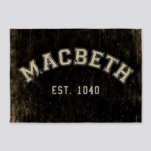 Retro Macbeth 5'x7'Area Rug
