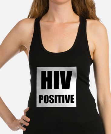 HIV Positive Racerback Tank Top