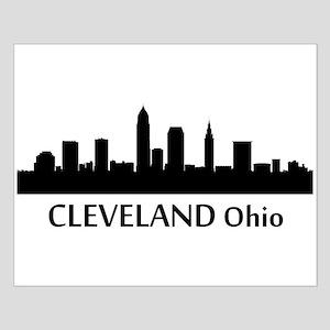 Cleveland Cityscape Skyline Posters