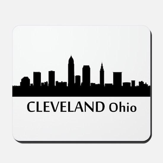 Cleveland Cityscape Skyline Mousepad