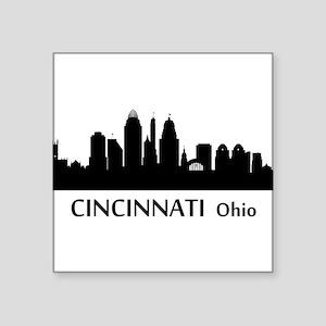 Cincinnati Cityscape Skyline Sticker