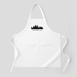 Cincinnati Cityscape Skyline Apron