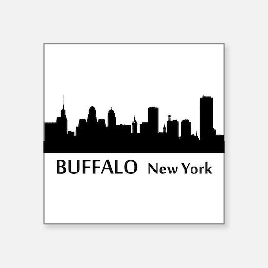Buffalo Cityscape Skyline Sticker