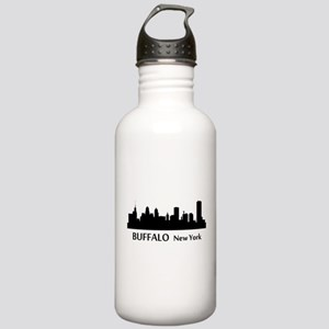 Buffalo Cityscape Skyline Water Bottle