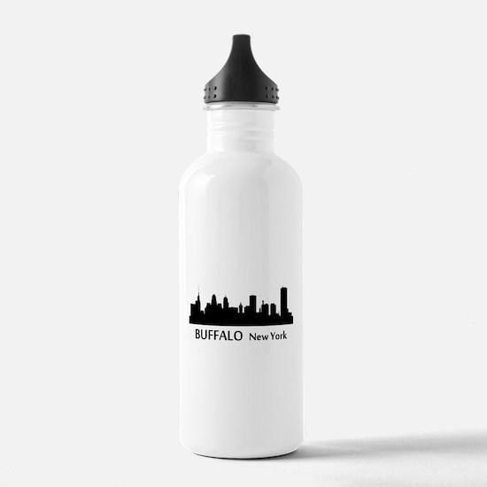 Buffalo Cityscape Skyline Water Bottle