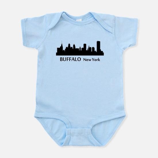 Buffalo Cityscape Skyline Body Suit