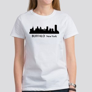Buffalo Cityscape Skyline T-Shirt