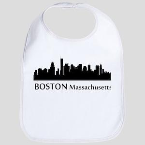 Boston Cityscape Skyline Bib