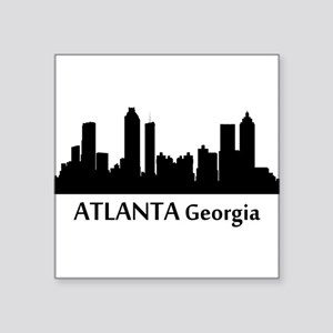 Atlanta Cityscape Skyline Sticker