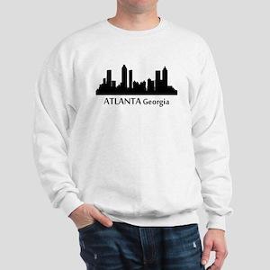 Atlanta Cityscape Skyline Sweatshirt