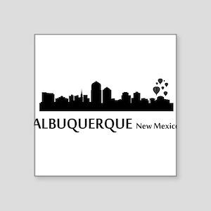 Albuquerque Cityscape Skyline Sticker