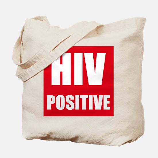 HIV Positive Tote Bag