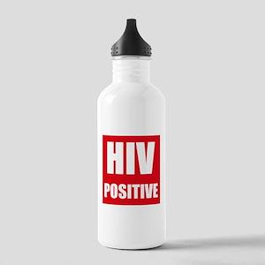 HIV Positive Water Bottle