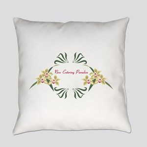 Now Entering Paradise Everyday Pillow