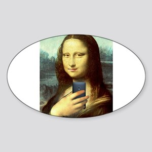 Mona Lisa Selfie Sticker