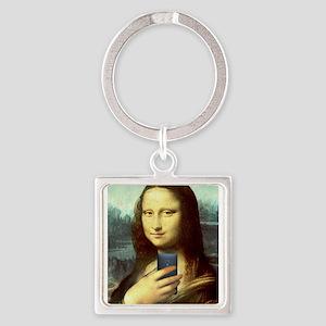 Mona Lisa Selfie Keychains