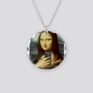 Mona Lisa Selfie Necklace