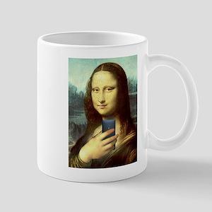 Mona Lisa Selfie Mugs