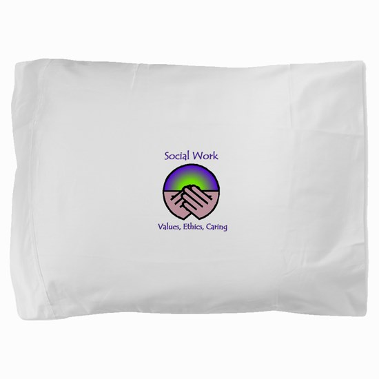 Social Work Values Pillow Sham