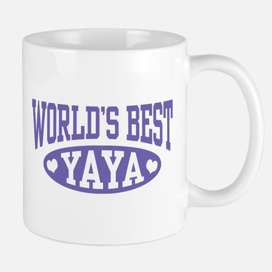 World's Best Yaya Mug