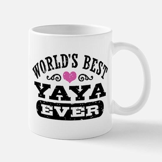 World's Best Yaya Ever Mug