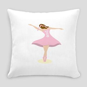 Ballerina Girl Everyday Pillow