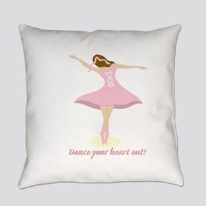 Dance Your Heart Out Everyday Pillow
