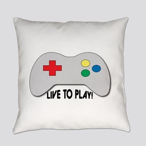 Live To Play! Everyday Pillow
