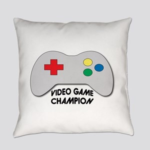 Video Game Champion Everyday Pillow