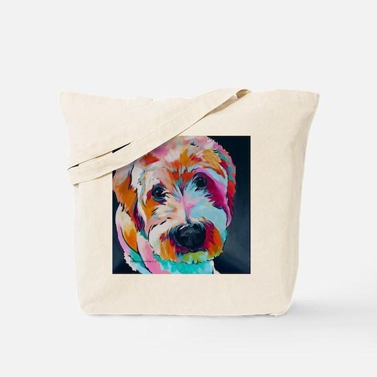 Unique Wheaten terriers Tote Bag