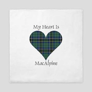 Heart - MacAlpine Queen Duvet