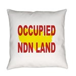 Occupied NDN Land Everyday Pillow